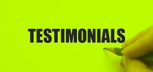 Thumpstar testimonials