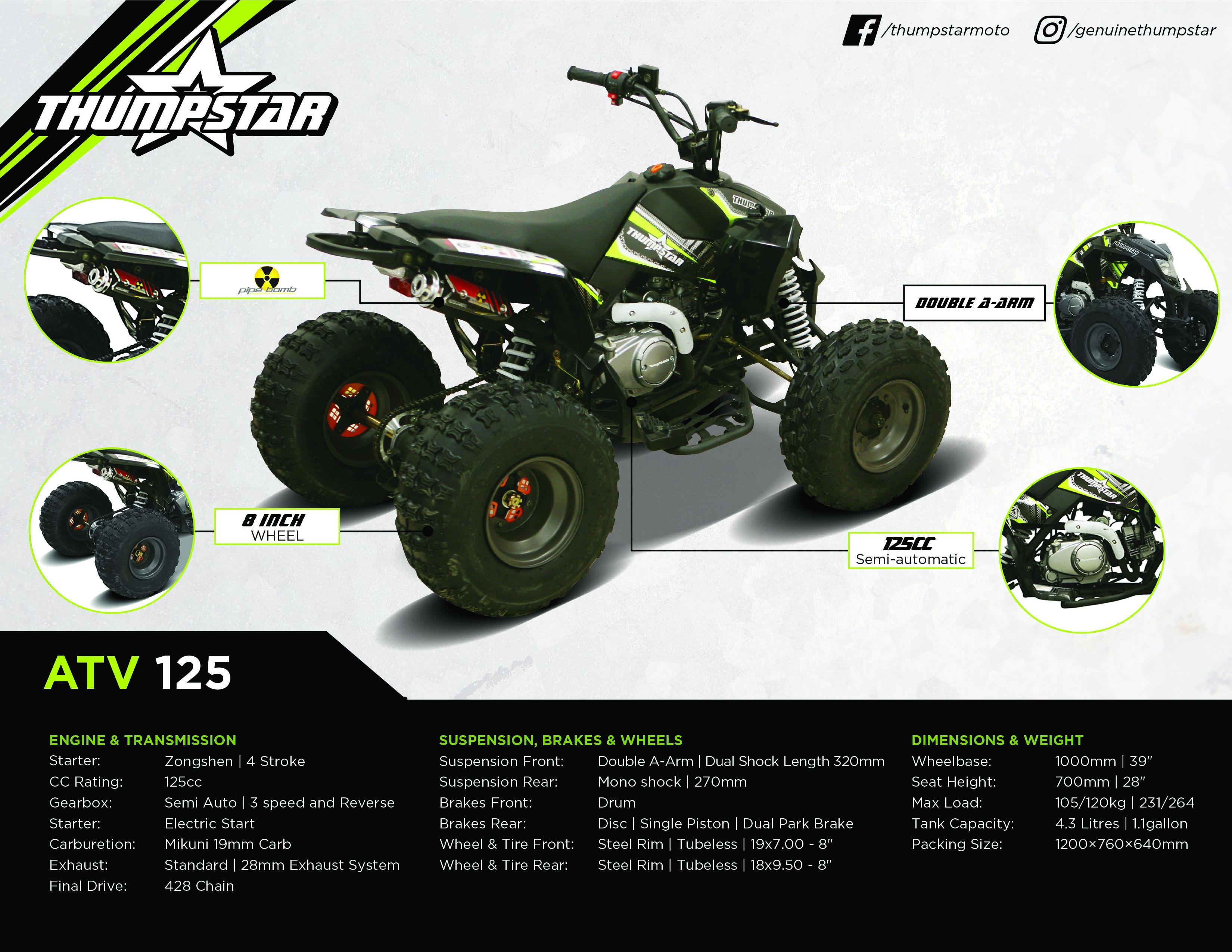 Thumpstar - ATV 125cc