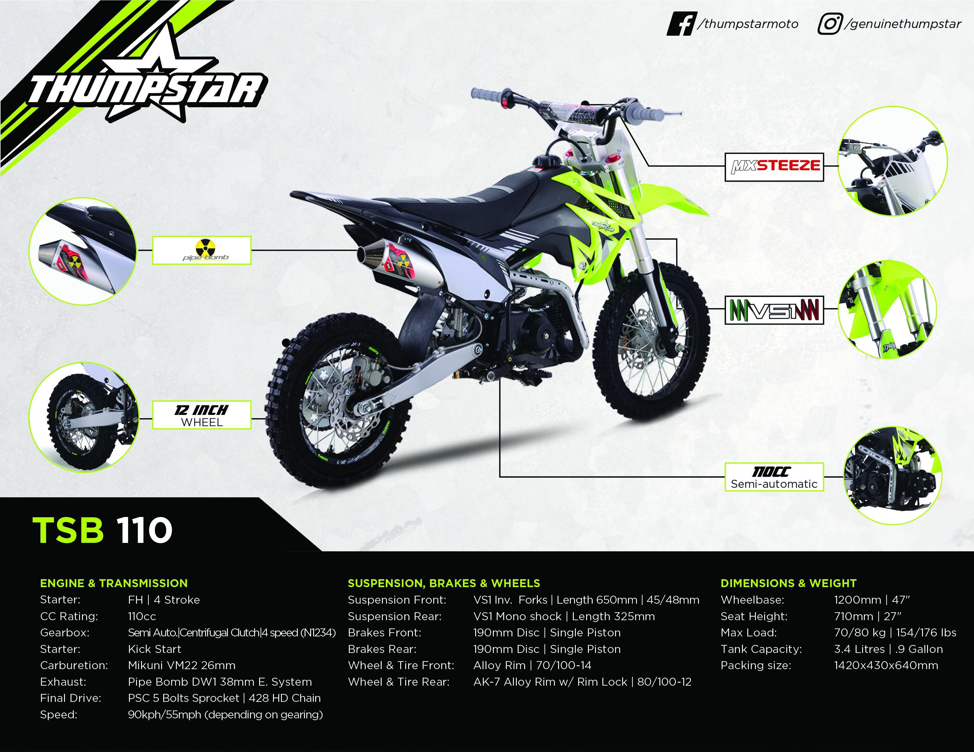 Thumpstar - TSB 110cc