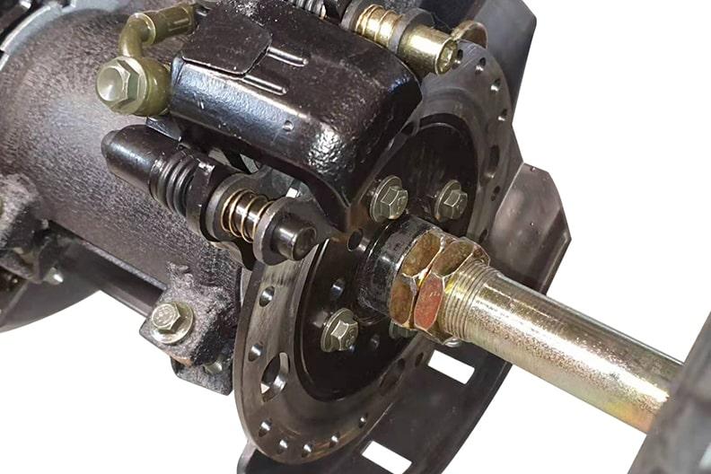 ATV125 Rear Disc Brakes