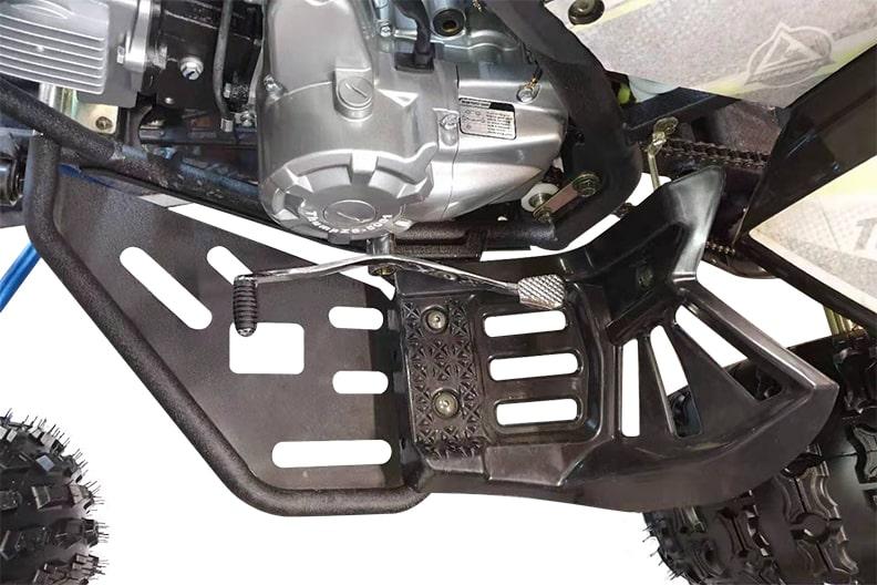ATV125 Steel Footrest