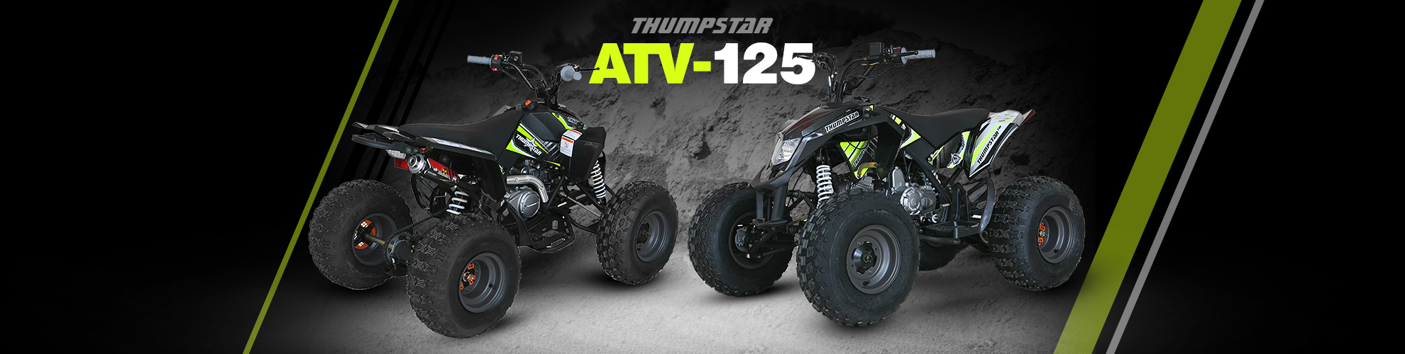 Thumpstar - ATV 125cc Banner for Desktop