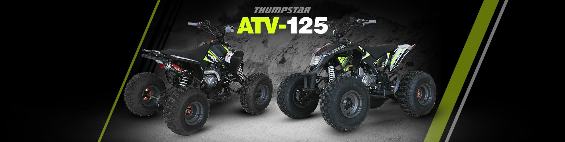 Thumpstar - ATV 125cc Quad Bike Banner for Desktop