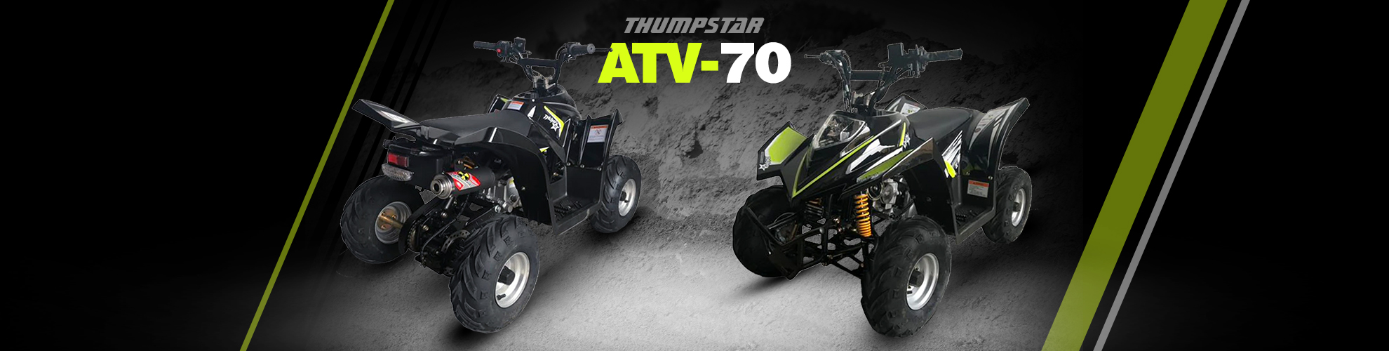 Thumpstar - ATV 70cc Banner for Desktop