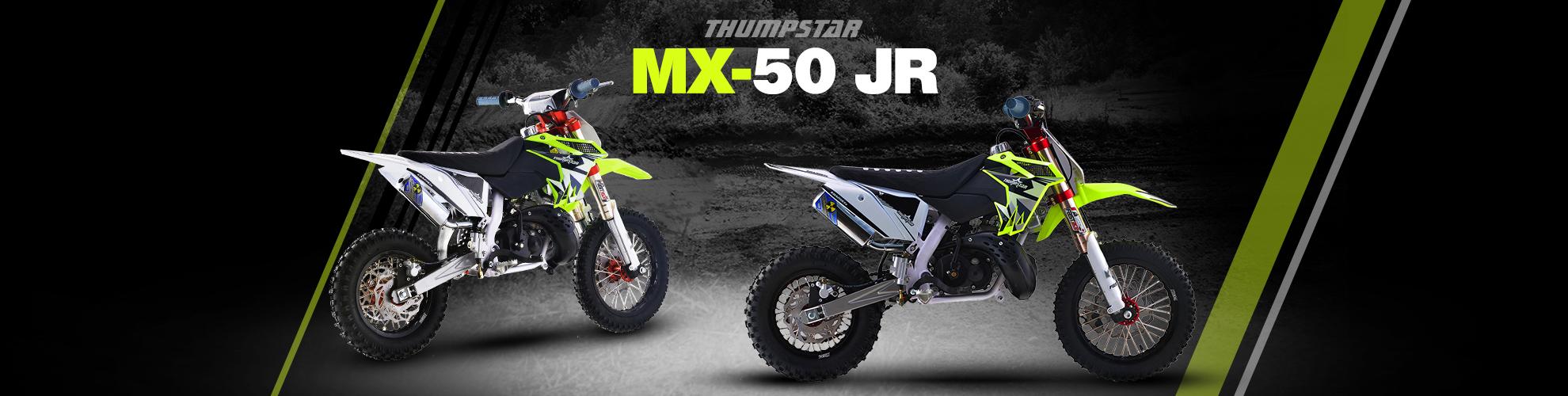 Thumpstar - MX 50cc JR Banner for Desktop