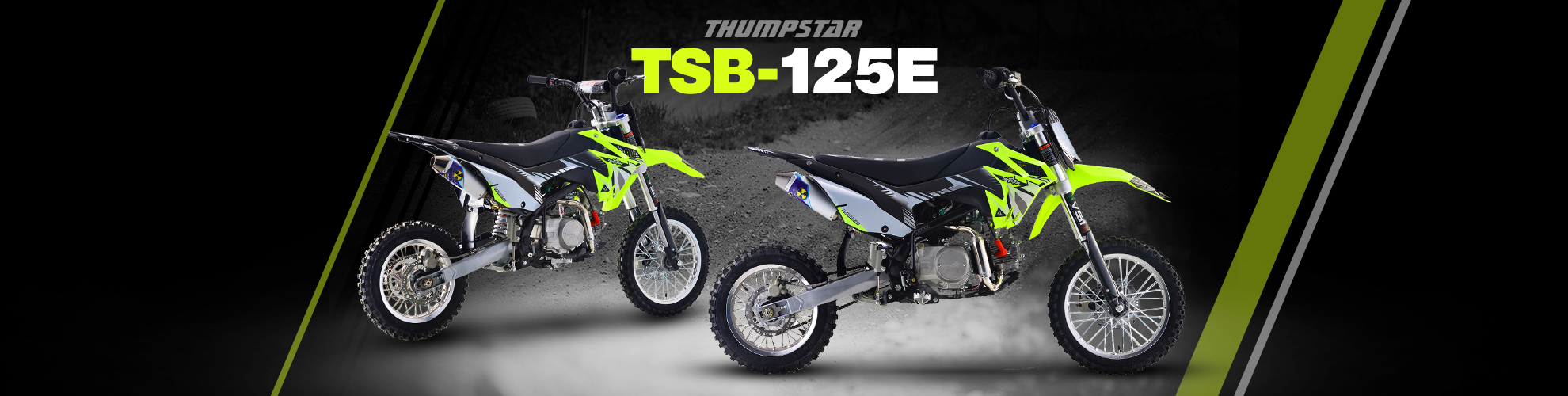 NZ64 PREORDER | Thumpstar - TSB 125cc E Banner for Desktop