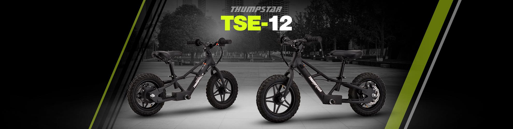 Thumpstar TSE12 | Electric Balance Bike Banner for Desktop