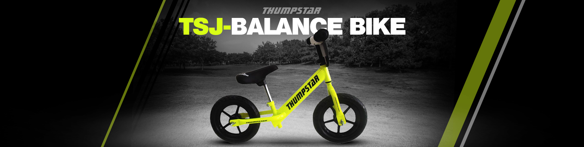 Thumpstar - TSJ Balance Bike Banner for Desktop