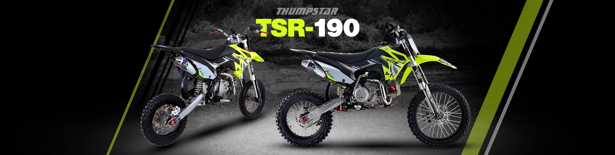 Thumpstar - TSR 190cc DAYTONA Banner for Desktop