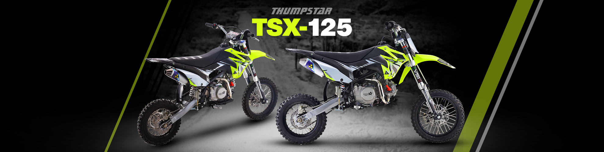 Thumpstar - TSX 125cc SW Banner for Desktop