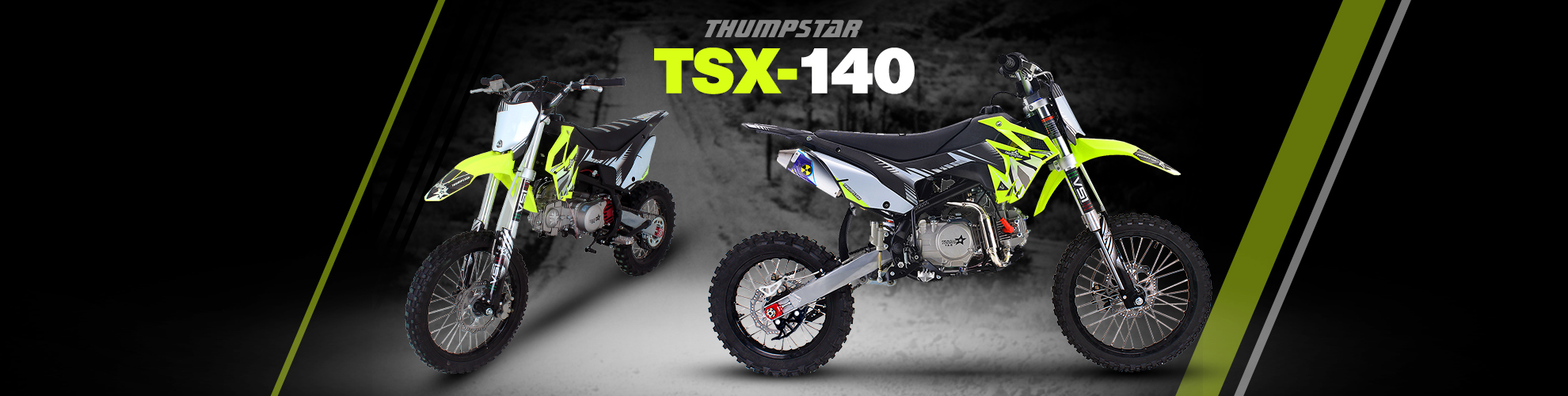 Thumpstar - TSX 140cc BW Banner for Desktop