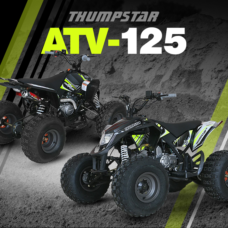 Thumpstar - ATV 125cc Banner for Mobile