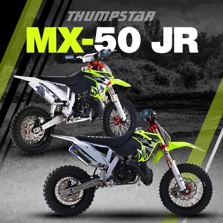 Thumpstar - MX 50cc JR Banner for Mobile