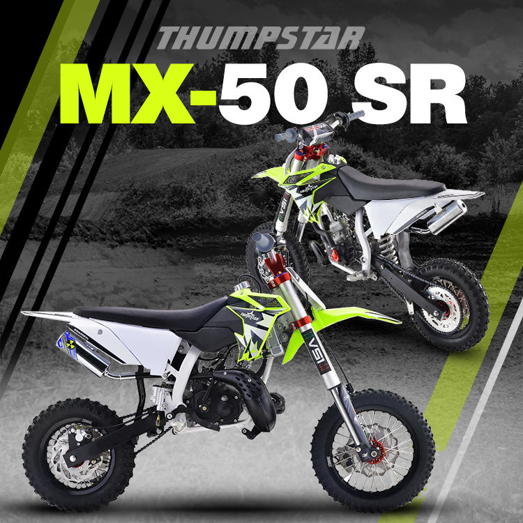 Thumpstar - MX 50cc SR Banner for Mobile