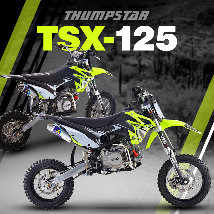 Thumpstar - TSX 125cc SW Banner for Mobile