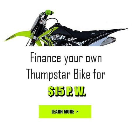 Finance pit bike